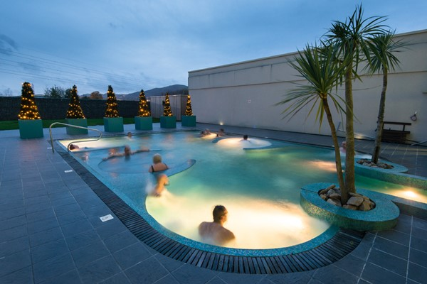Deluxe Overnight Spa Break with 55 Minute Treatment and Dinner for Two at The Malvern Spa Hotel