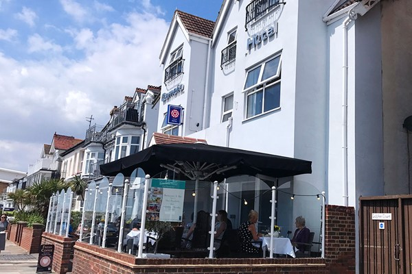 One Night Escape for Two with Breakfast and Dinner at the Camelia Hotel in Essex
