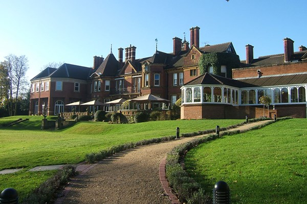 Overnight Stay with Dinner at the Moor Hall Hotel and Spa for Two