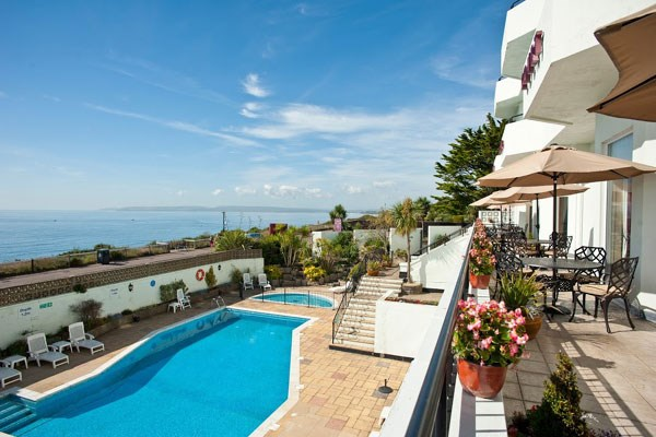 One Night Break with Dinner for Two at Hallmark Hotel Bournemouth Eastcliff