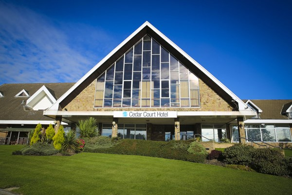 One Night Break with Dinner for Two at Cedar Court Hotel Huddersfield