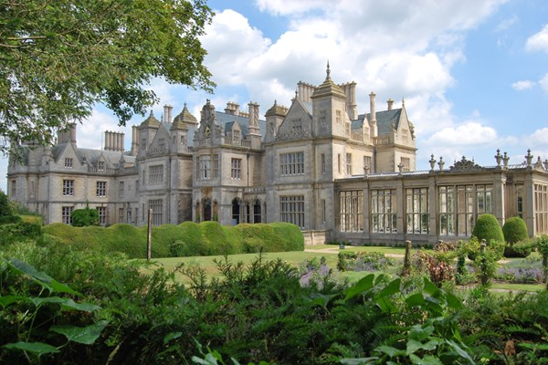 One Night Break with Afternoon Tea for Two at Stoke Rochford Hall