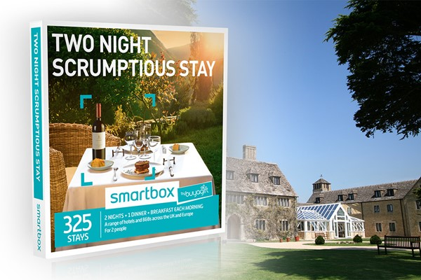 Two Night Scrumptious Stay - Smartbox by Buyagift
