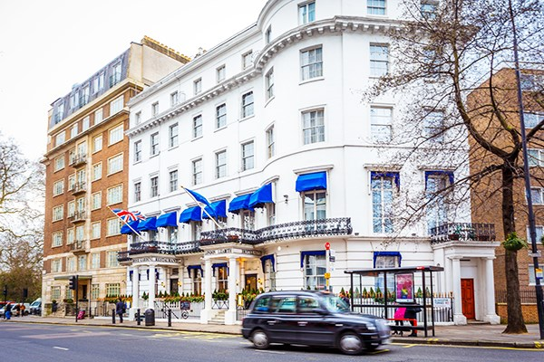 One Night Escape for Two at the London Elizabeth Hotel