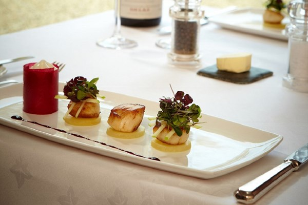 Seven Course Tasting Menu with Glass of Wine for Two at Esseborne Manor