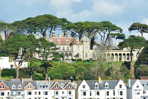 Overnight Break with Dinner for Two at Fowey Hall