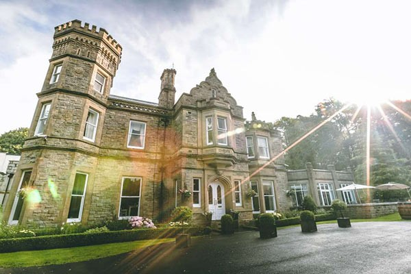 Overnight Stay with Dinner for Two at Hollin House Hotel
