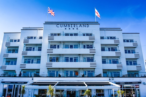 Two Night Break in an Oceanfront Double Room for Two at The Cumberland