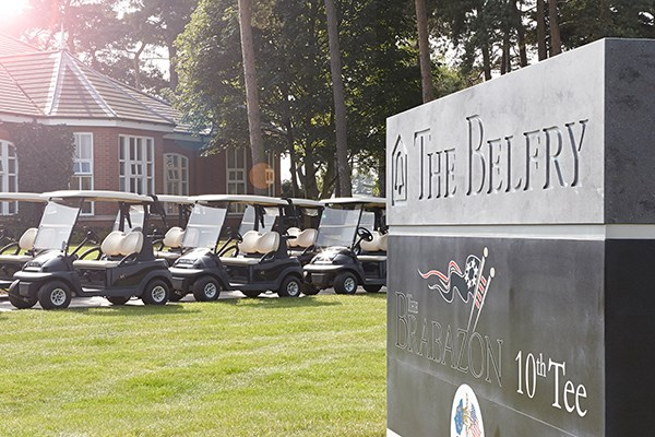 Overnight Golf Break With Two Rounds Of Golf For Two At The Belfry