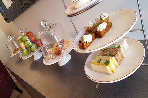 Sparkling Afternoon Tea for Two at Dunalastair Hotel Suites