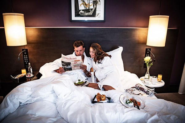 Luxury Overnight Stay with Champagne at South Place Hotel