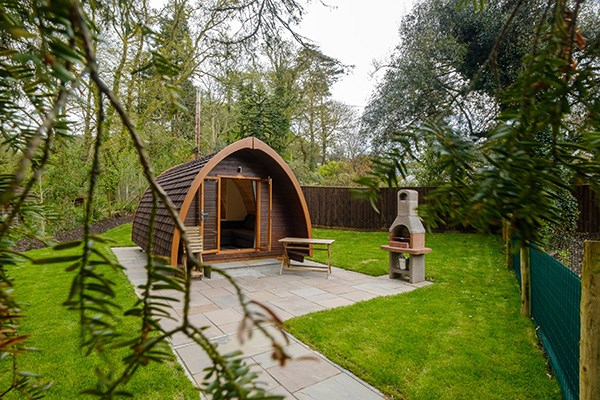 Two Night Stay in a Mega Pod at Langstone Manor