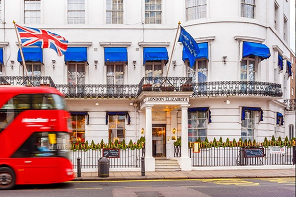 Overnight Escape with Dinner and Fizz for Two at London Elizabeth Hotel