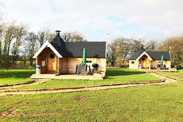 Two Night Glamping Break for Two at Elton Barn Camping and Fishing