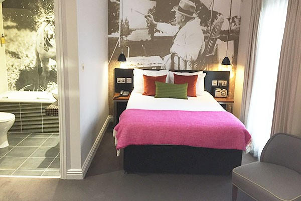 One Night Boutique Stay for Two at The Churchill Hotel
