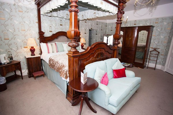 One Night Stay in a Four Poster Suite at The Speech House Hotel