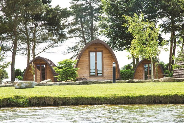 One Night Break in a Private Camping Pod at Lake Dacre