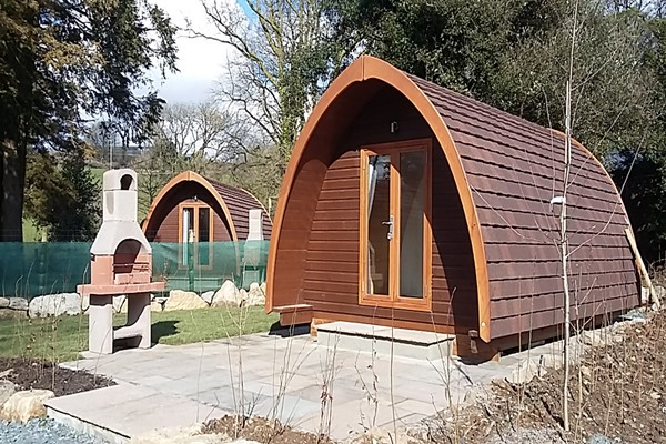 Two Night Family Camping Pod Getaway in Devon