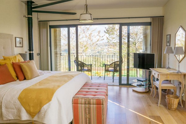 One Night Stay For Two At Woodchester Valley Vineyard