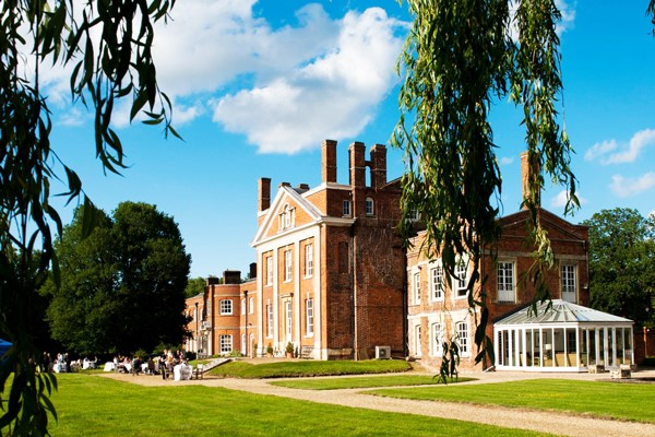 One Night Spa Break with Two Course Dinner for Two at Warbrook House and Grange