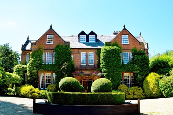 One Night Deluxe Gourmet Escape for Two at Nunsmere Hall