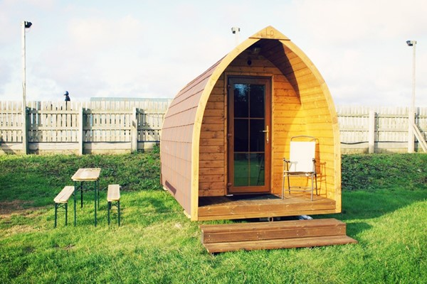 Buy Two Night Glamping Stay at Plum Pudding Equestrian Centre for Two