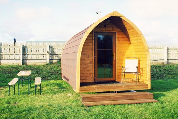 One Night Glamping Escape at Plum Pudding Equestrian Centre for Two