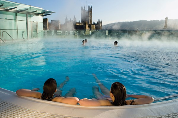 One Night Stay with Thermae Spa Access for Two at The Roseate Villa