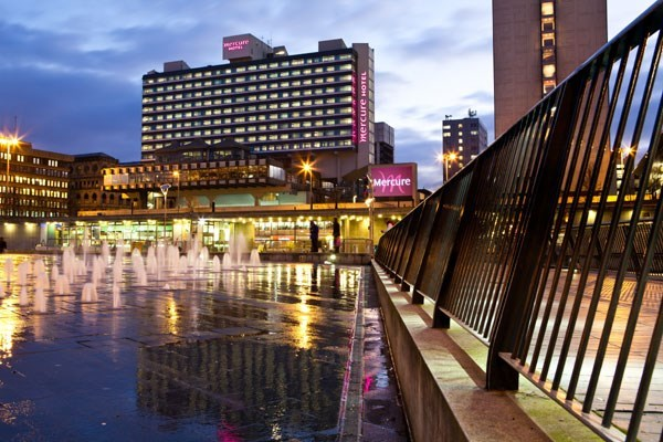 One Night Break with Dinner at Mercure Manchester Piccadilly Hotel