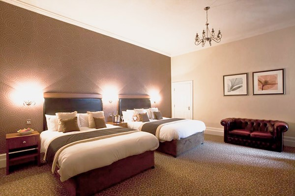 Luxury One Night Stay with Two Course Meal for Two at Midland Hotel