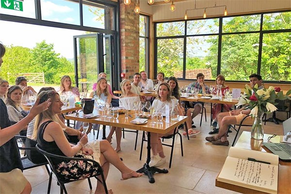 Winery Tour and Tasting for Two at Woodchester Valley Vineyard