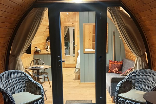 Buy The Quiet Holiday Park One Night Stay in a Glamping Cabin for Two