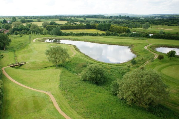 One Night Golf Break with Two Course Dinner for Two at Magnolia Park
