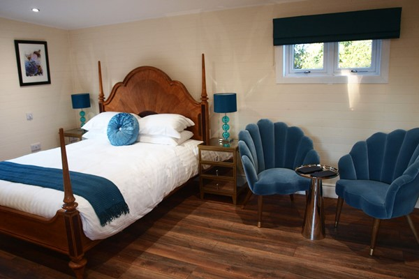 Overnight Stay with Hot Tub and a Four Course Dinner in a Garden Spa Room for Two at Beechwood Hotel