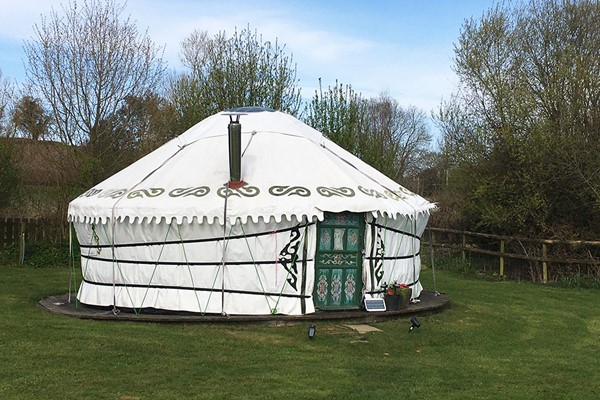 Two Night Yurt Getaway in Devon for up to Six People