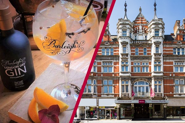 Overnight Stay at Mercure Leicester The Grand Hotel with a Gin Masterclass at 45 Gin School