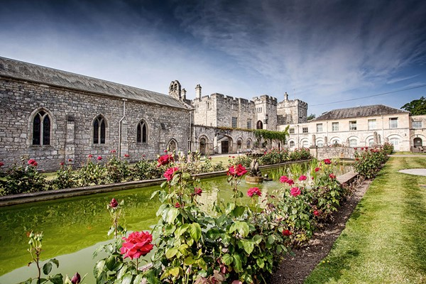 Overnight Castle Escape for Two and Three Course Dinner at Hazlewood Castle