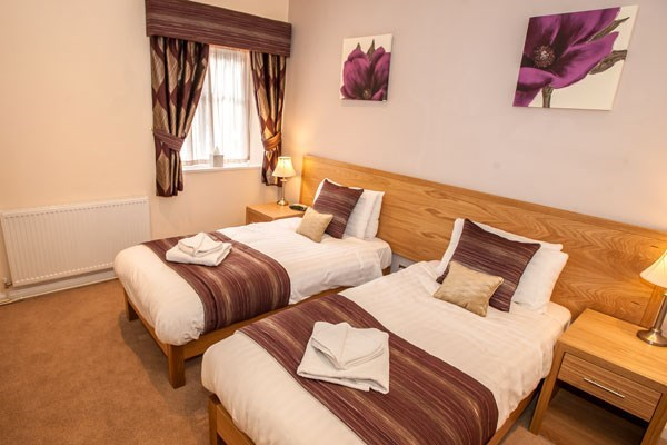 One Night Break for Two at The Rutland Arms Hotel
