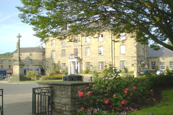 One Night Romantic Break for Two at The Rutland Arms Hotel