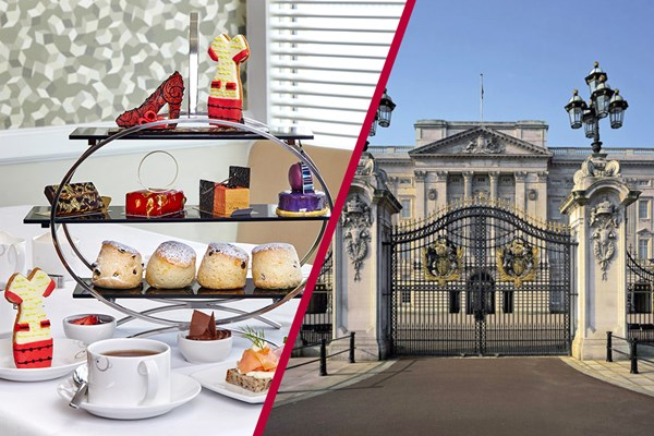 Buckingham Palace Queen's Gallery with Afternoon Tea for Two at Hilton Park Lane