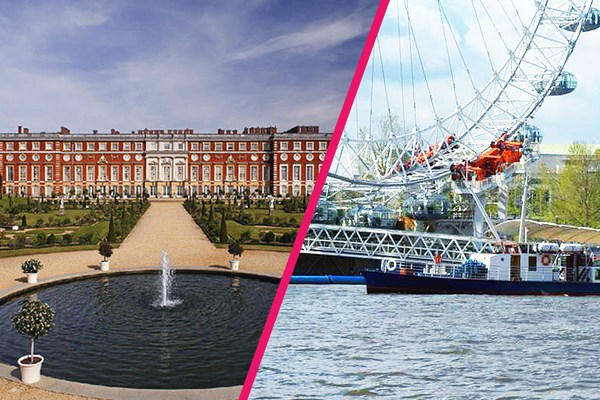 River Cruise and Entry to Hampton Court Palace