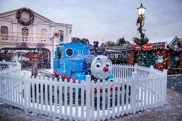 Entry to Magical Christmas at Drayton Manor Park for Two Adults and Two Children