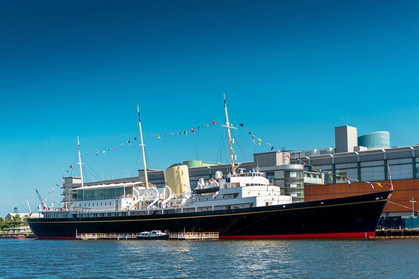 Visit to The Royal Yacht Britannia for Two