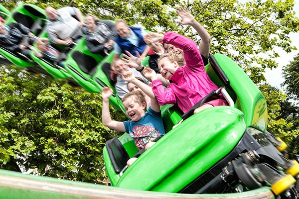 Drayton Manor Park Tickets with Lunch for Two Adults and Two Children