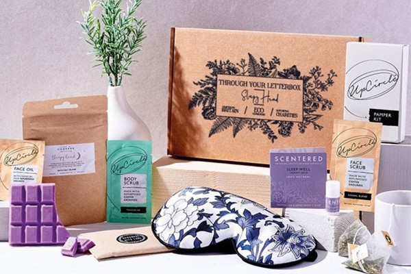 The Sleepy Head Natural Care Package Letterbox Gift