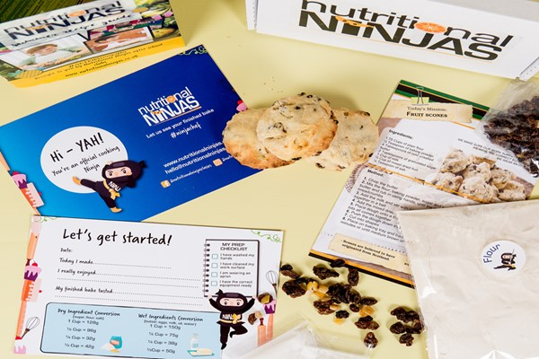 Six Month Subscription to Nutritional Ninjas Bake Box for Kids