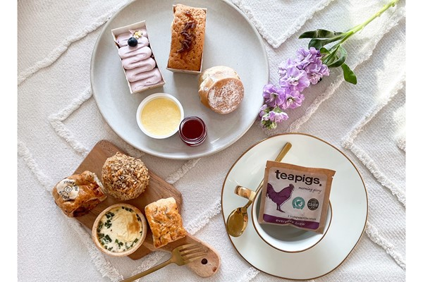 Afternoon Tea for One at Home with Piglet's Pantry