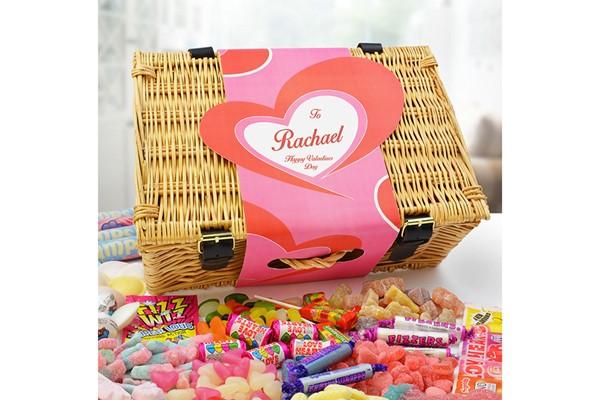 Valentine's Day Personalised Sweet Hamper