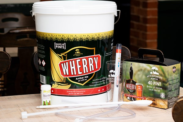 Woodforde's Brewery Home Beer Brewing Kit and Starter Kit