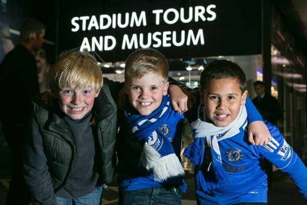 Adult And Child Chelsea FC Museum Experience
